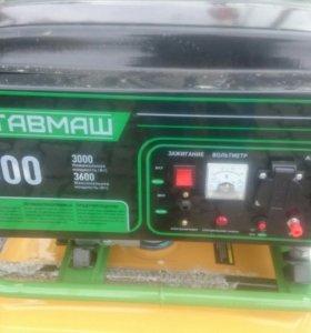 Бензиновый генератор 3.6 кВт