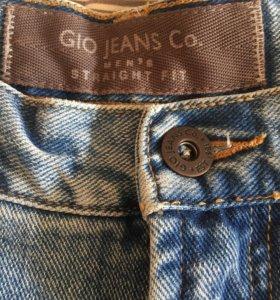 Джинсы GIO W36 L34 брюки джинсовые