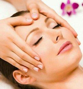Комплексный массаж (лица,шеи,зоны декольте по масл