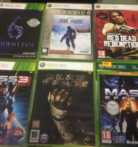 Диски для Xbox 360. Лицензия.