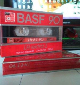 Кассеты BASF новые