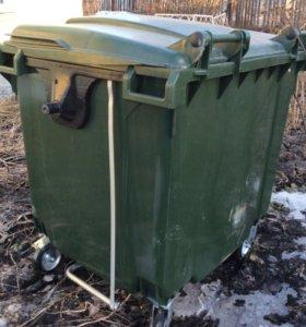 Евро контейнер для мусора новый