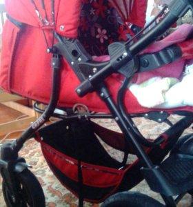 Продам коляску для девочки и мобиль