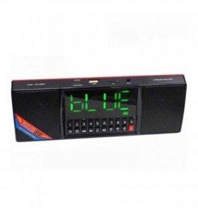 Колонка часы MP3 Bluetooth WS-1515BT