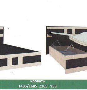 Продам шкаф 3-х створчатый и 2-х спальную кровать