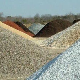 Цемент, песок, гравий, щебень, отсев, чернозём!!!