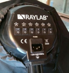 Свет студийный RAYLAB с октобоксом 80 см