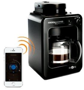 Кофеварка со встроенной кофемолкой Redmond Skycoff
