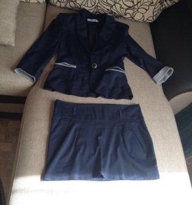 Пиджак +юбка