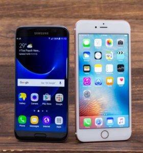 Samsung s6/s7 iPhone 7/6s 64GB