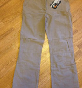 Новые штаны льняные