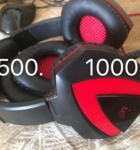 Наушники bloody G500 игровые