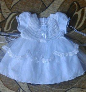 Платье 1-2 года. В хорошем состоянии