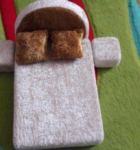 Кроватка для кукол Барби