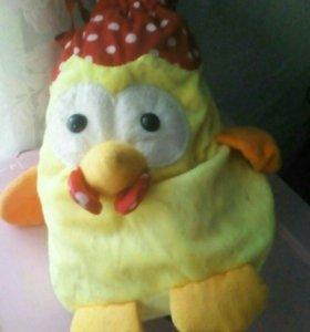 Плюшевый цыплёнок
