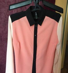 Блузка, не ношеная, шифоновая