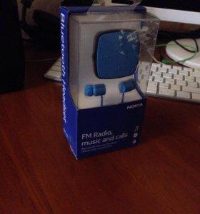 Bluetooth гарнитура + ФМ радио