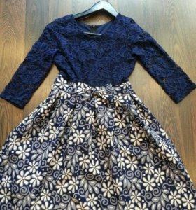 Нарядное платье для девочки 10-11 лет