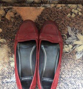 Туфли женские замшевые 39 размер