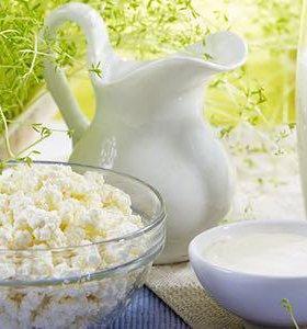 Козье молоко (сметана, творог, сыр)