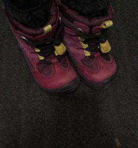 Зимние ботинки для девочек или мальчиков ecco