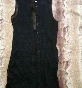 Лёгкая накидка рубашка