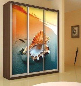 Двери для шкафа с фотопечатью