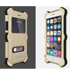 Чехол защитный Love Mei MK2 для iPhone 6/6+