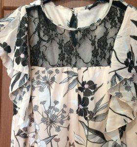 Летнее платье р. 46-48