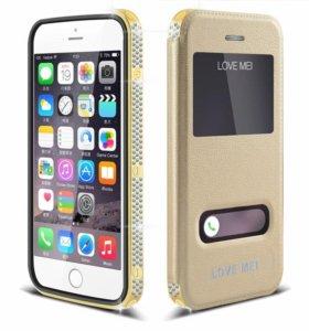 Защитные чехлы Love Mei Star Line на iPhone 6/6+
