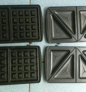 Сменные формы для вафельницы Supra