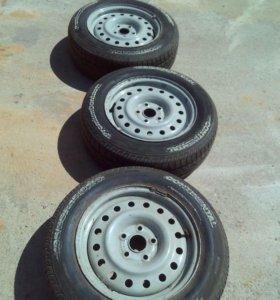 1 колесо с диском