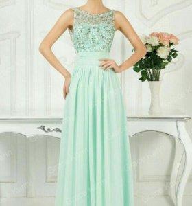 Очень нежное вечернее платье из шифона Grace Karin