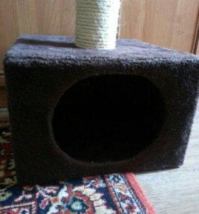 Домик- коктеточка для котов и кошек