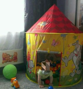 Палатка детская с шариками ( 200 шт. )