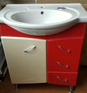 Новый мебельный гарнитур в ванную комнату