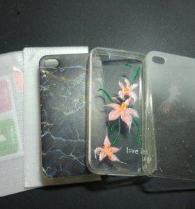 Новые чехлы на iPhone 4-4s