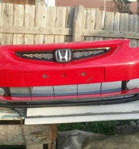 Передний и задний бампер gd 1 Honda fit