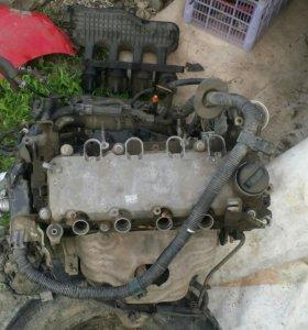 Двигатель на запчасти Honda fit gd1