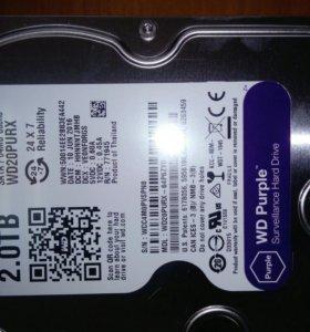 Жёсткий диск на 2 терабайта.