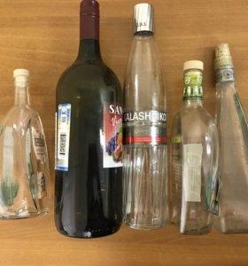 Бутылки оригинальной формы