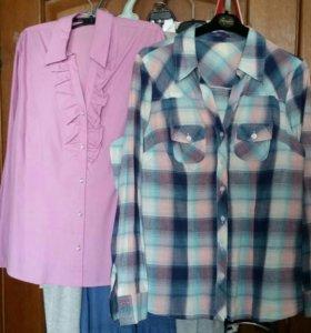 Рубашка блузка 48-50