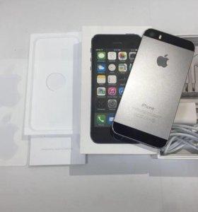 iPhone 5s,с объемом памяти 16gb,цвет Space Gray