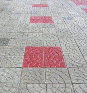 Плитка бетонная тротуарная