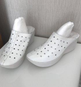 Новые женские сабо туфли