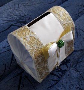 сундук для открыток на свадьбу