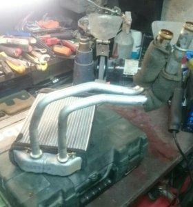 Радиатор печки Ауди А6С5 радиатор отопителя