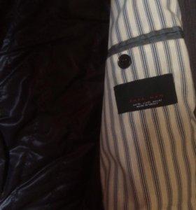 Пиджак-пальто Zara с подстежкой XL/mex42
