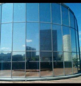 Тонировка балконов,домов,офисных перегородок