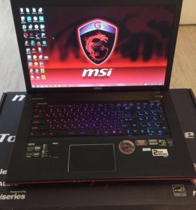 Ноутбук msi Apache Pro GE70 i7 16gb